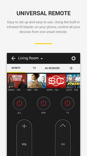 Peel Universal Smart TV Remote Control v9.9.9.9 [Ad-Free]   Peel Universal Smart TV Remote Control v9.9.9.9 [Ad-Free]Requirements:Varies with deviceOverview:Peel Smart Remote revolutionizes your home entertainment experience by combining universal remote control and live or streamed TV listings into one simple-to-use app. This is the only remote and TV guide you need.  This Remote Changes Everything!  Universal Remote Control Reliably control your TV set-top box DVD player Blu-ray Roku Apple…