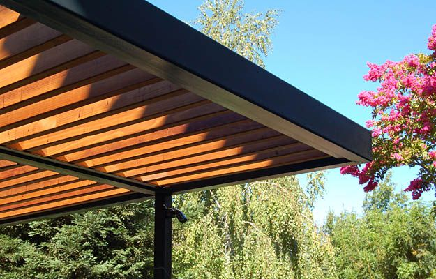 Ipe Pergola Sun And Weather Resistant Modern And