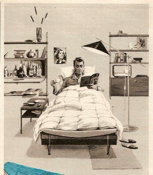 17 Best Ideas About 50s Bedroom On Pinterest