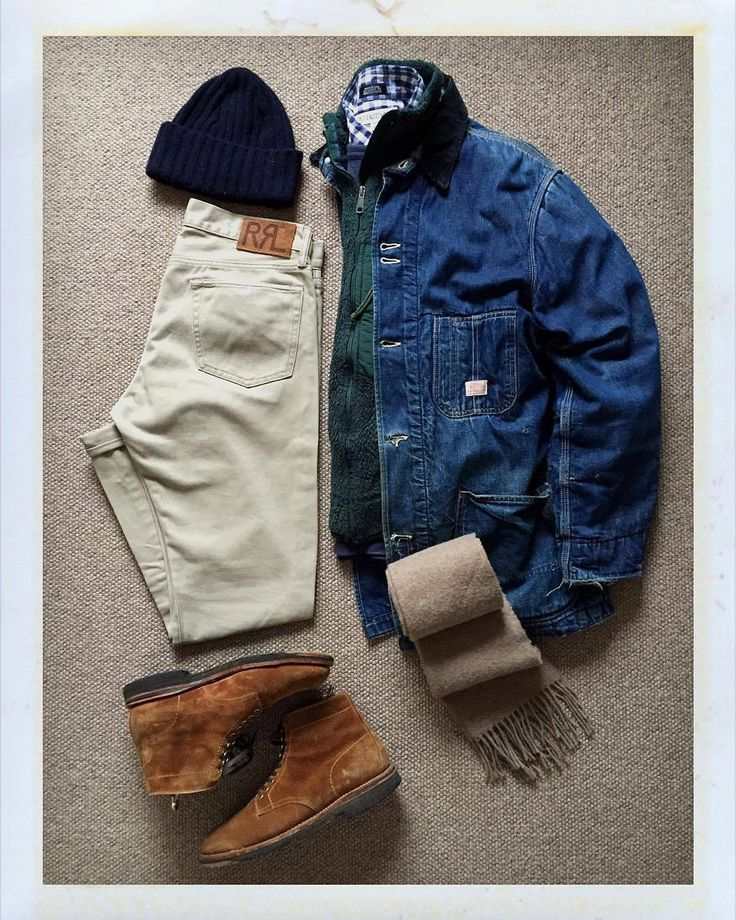 The.Daily.Obsessions — Today's Outfit. 60's #Hercules Railroader Jacket...