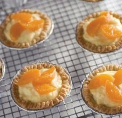 Satsuma Tarts Recipe, ( seedless mandarin )