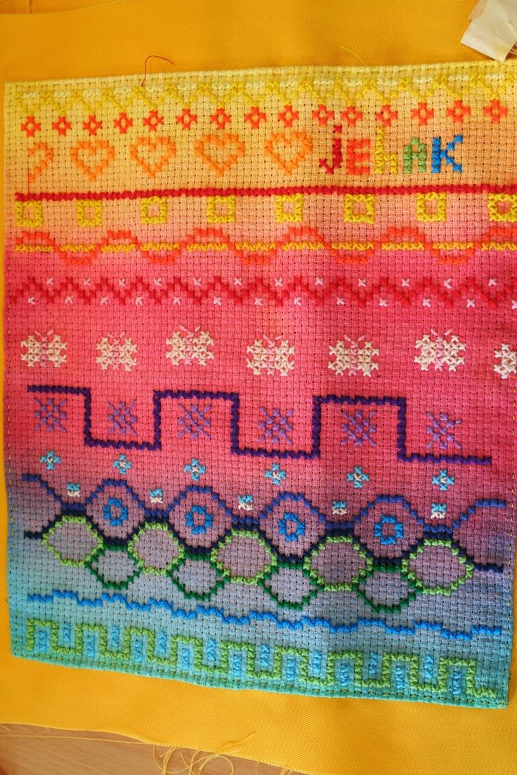 4th grade cross-stitch