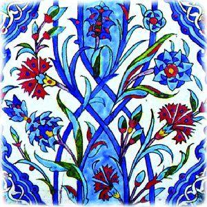 Turkish Art: Iznik Cini (see link)
