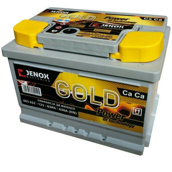 Akumulatory Wrocław www.akumulatorywroclaw.pl Akumulator Jenox Gold 63Ah tel. +48 66 00 6666 1