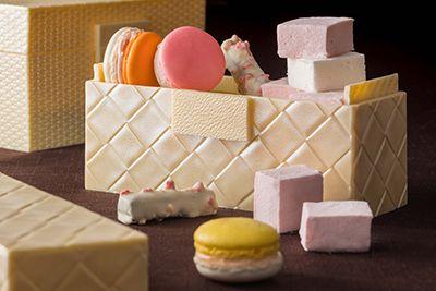 ザ・キャピトルホテル 東急のホワイトデー、チョコのジュエリーボックス&フルーツ×ハーブのマカロン