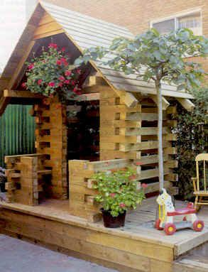 diy trash to treasure garden projects | 25 Free Backyard Playground Plans for Kids: Playsets, Swingsets ...