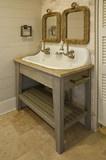 Морская трава прибрежных - тропический - ванная комната - Чарлстон - Браун Подрядчики Fine Custom дома