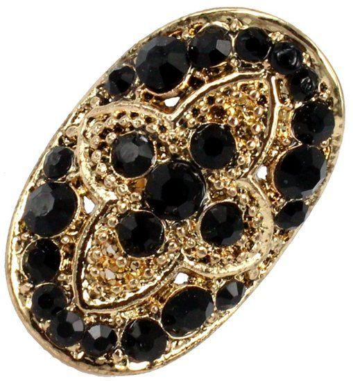 https://www.goedkopesieraden.net/Gouden-luxe-ring-met-zwarte-strass-steentjes