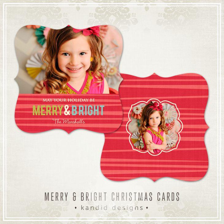 DIY Christmas Cards - Kandid Designs