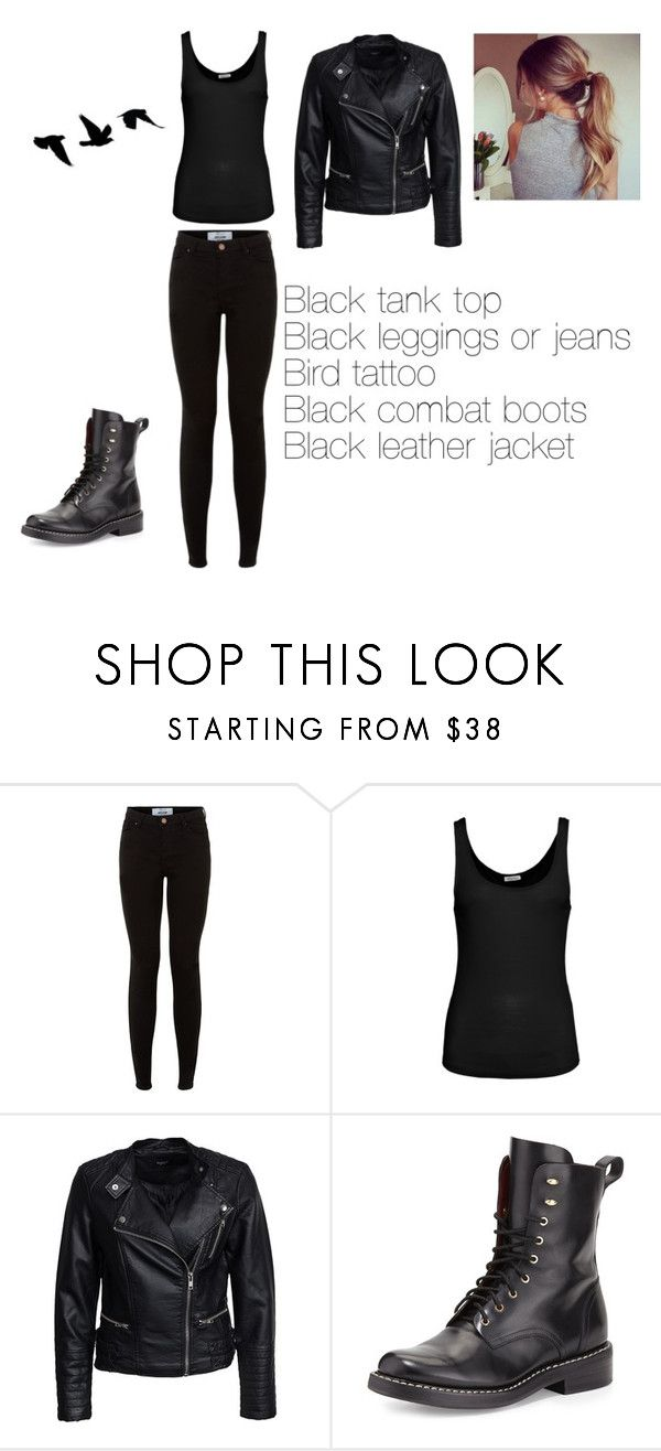 """Tris (Divergent) Halloween costume"" by menna121 ❤ liked on Polyvore featuring American Vintage, Sisters Point and rag & bone"
