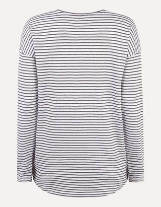 Sweatshirt mit Aufnäher