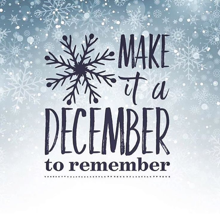 How are YOU making this month a December to remember? #motivation #winter #inspiration #instagram #everydayhealth | everydayhealth.com