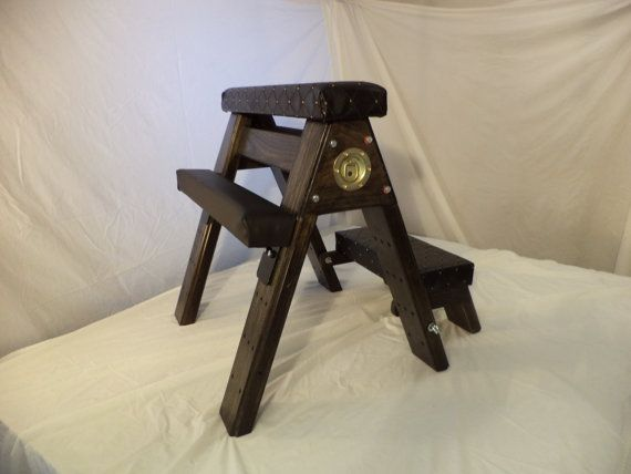 BDSM Spanking Bench with kneeler and arm/leg rests