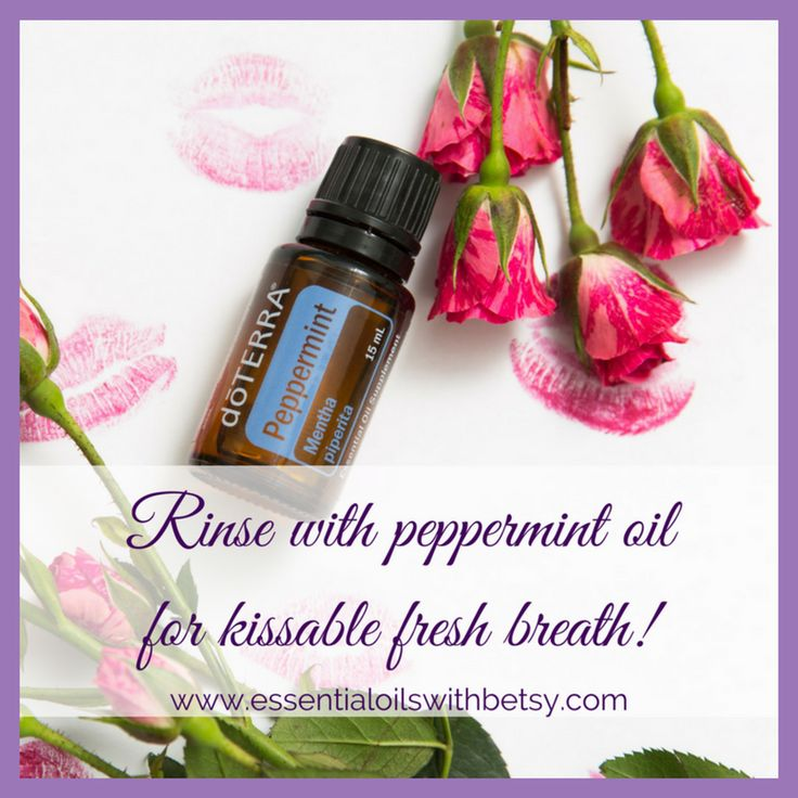 DoTERRA Peppermint Essential Oil Uses - Essential Oils With Betsy