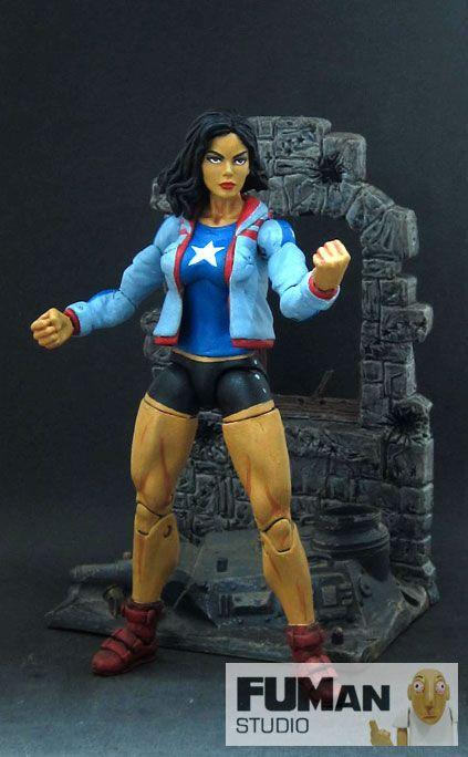 Ms America (Marvel Legends) Custom Action Figure