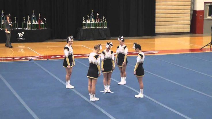 Tri-West High School 2012 Indiana High School Cheerleading Championships - STUNT GROUPS