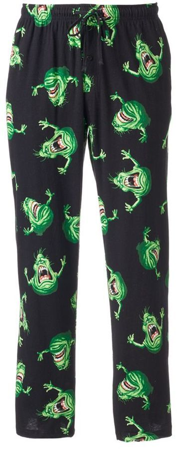 Men's Ghostbusters Slimer Lounge Pants