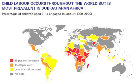 the issue of child labor in africa 2018-8-17 child labour in africa  the child labour country dashboard provide information from various sources to present a broad picture of the national child labour.