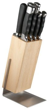 Berghoff Dolce Knife Block Set modern chef's knives