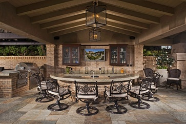 Bartholomew Residence - mediterranean - patio - orange county - AMS Landscape Design Studios, Inc.