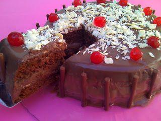Rute Receitas: BOLO DE CHOCOLATE RECHEADO