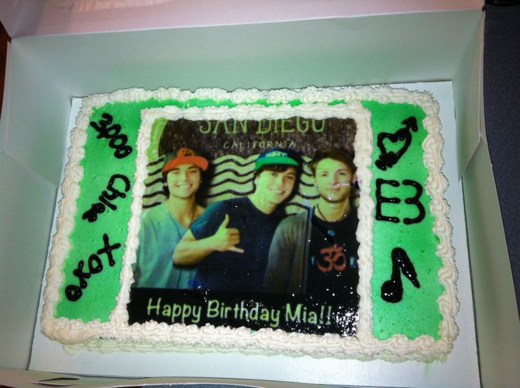 my daughters emblem3 e3 birthday cake emblem 3 cake let