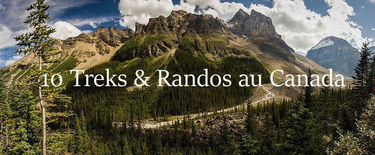 10 treks Canada