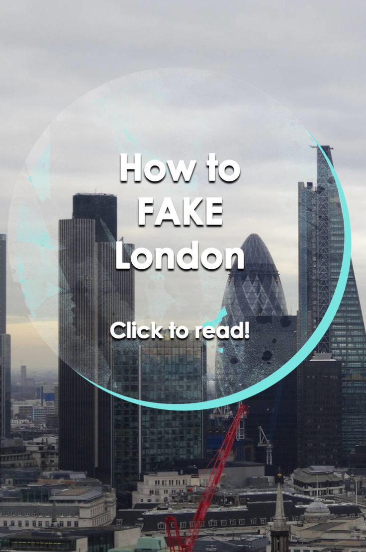 How to fake London | Runawaykiwi, Expat in London