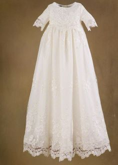 heirloom lds baby blessing dresses with lace - Google Search....this looks like a baby version of my wedding gown