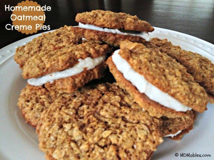 Healthy Oatmeal Whoopie Pie -gluten free