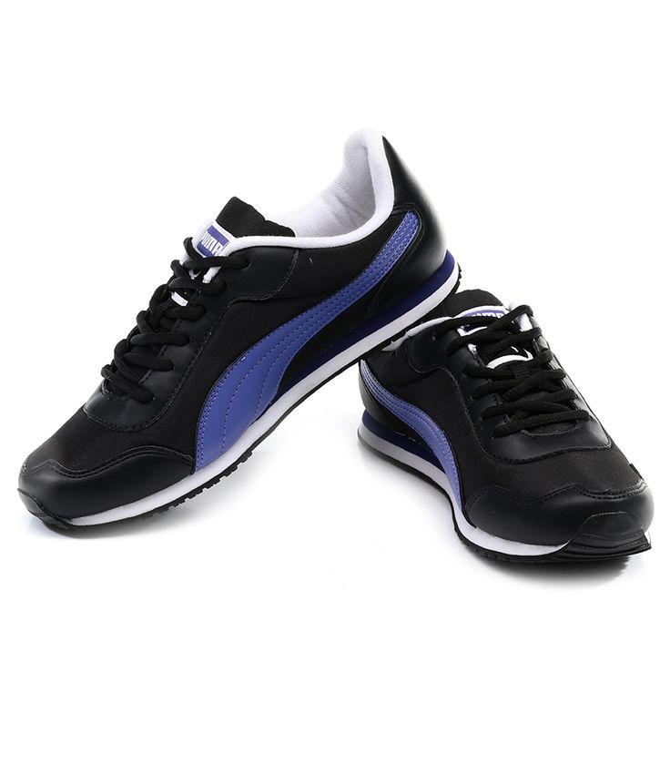 Puma Street Rider Black Sports Shoes