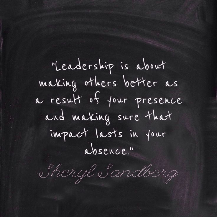 Leadership - helping the next generation rise to their full potential!
