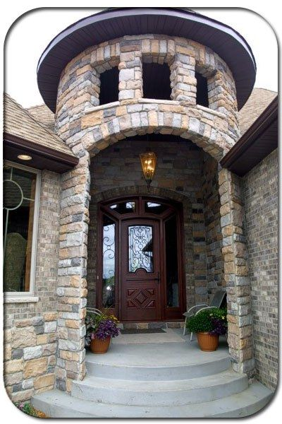 27 best images about castle homes on pinterest castle for Castle style homes
