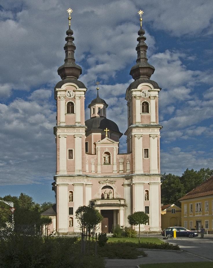Villach-Ossiacher Zelle, Wallfahrtskirche Heiligenkreuz
