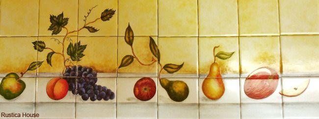 175 best Decorative Tile Murals images on Pinterest | Decorative ...