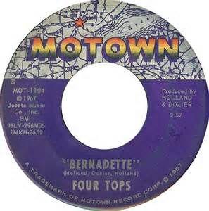 Bernadette - The Four Tops - 1967