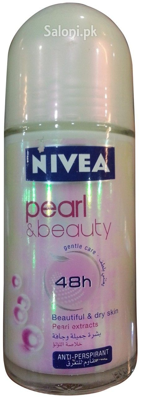 NIVEA PEARL & BEAUTY GENTLE CARE 48H ROLL-ON DEODORANT 50 ML Saloni™ Health