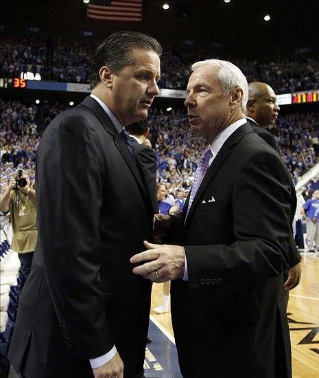 "John Calipari using Jay- Z and Drake to ""outswag"" Roy Williams in Julius Randle recruitment"