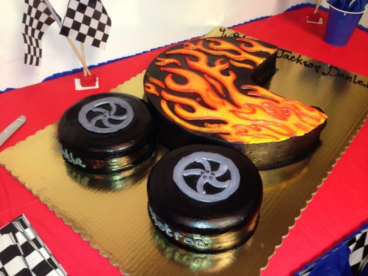 10 Best Hot Rod Birthday Party Images On Pinterest Car