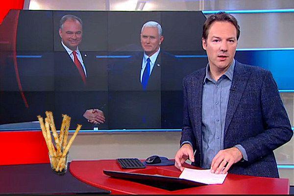 Ook op de presentatiedesk van het NOS Journaal staat voortaan een glaasje met kaasstengels. De NOS speelt hiermee in op het succes van RTL Late Night.De man die in de talkshow een kaasstengel van tafel griste beheerst al dagenlang het nieuws. Het glaasje met kaasstengels is een vast onderdeel van RTL Late Night. Het is niet gebruikelijk dat gasten daadwerkelijk [...]