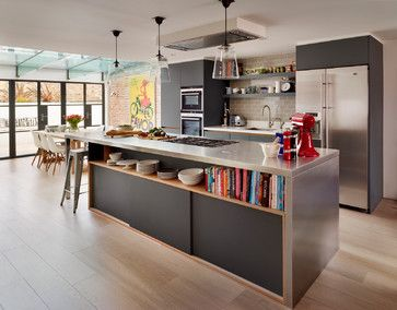 Urbo bespoke kitchen - contemporary - Kitchen - London - Roundhouse
