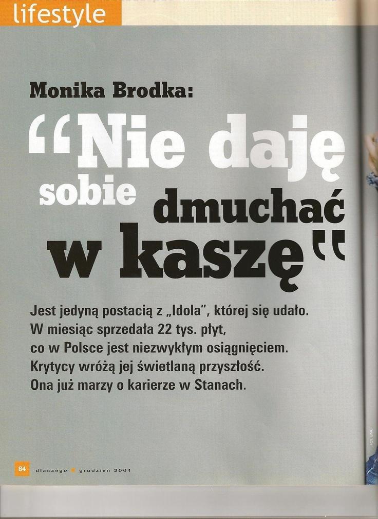 Wywiad z Moniką Brodką. Już wtedy była bardzo zrozumiała.