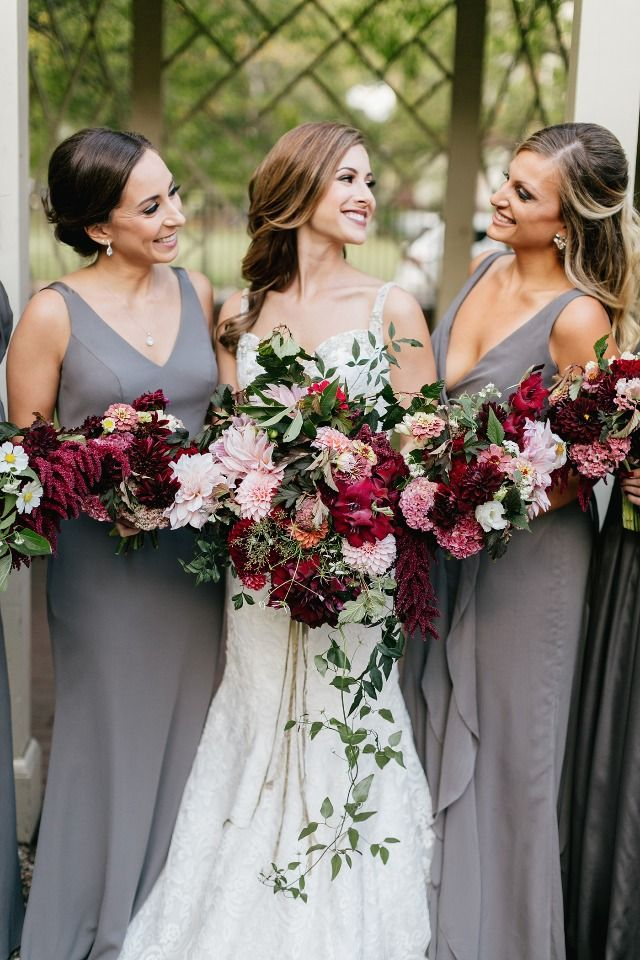 1950's Glamour Meets Modern Fall Chic Wedding In Philadelphia