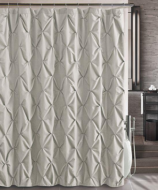 Taupe Carmen Shower Curtain 1999 Bathroom Fabric Shower Curtains Curtains Modern