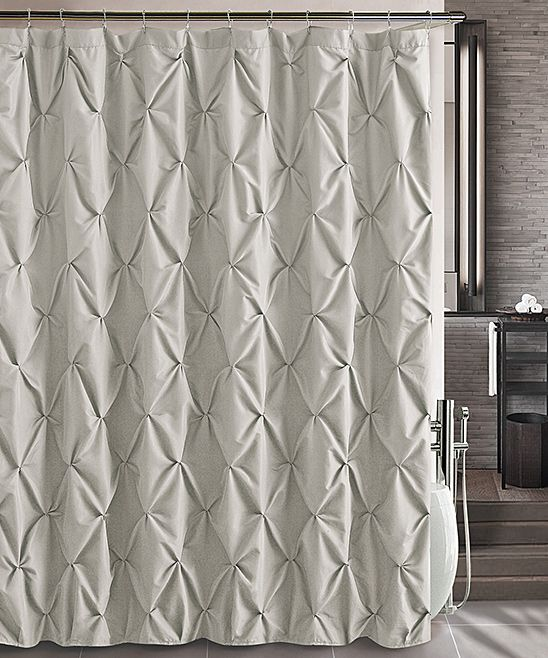 Victoria Classics Taupe Carmen Shower Curtain Showers Taupe And Curtains