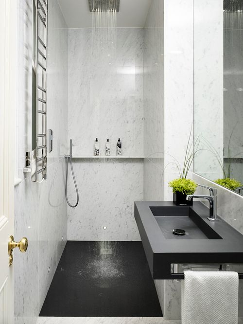 Best 25 ensuite bathrooms ideas on pinterest grey for Small ensuite bathroom