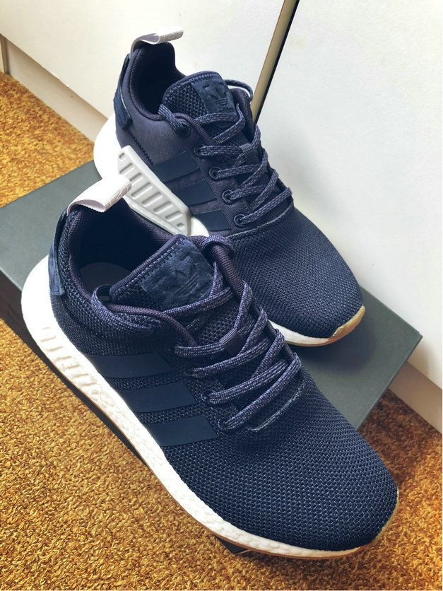 9df827e33 Adidas NMD R2 Navy Boost sneakers