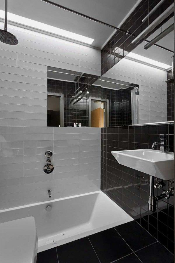 Good Bathroom Of Modern Minimalist House Built With Only  Design
