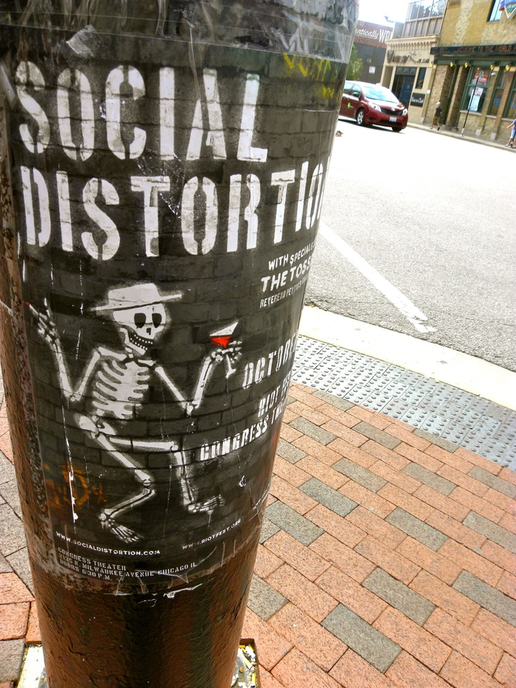 Social Distortion - Got my tickets in the mail yesterday to see them in NYC in September!!!!