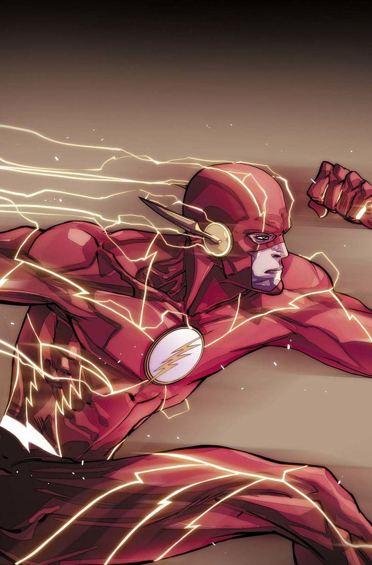 The Flash concept art DC Rebirth